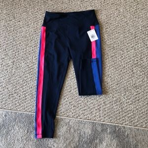 NWT Reebok high waist 7/8 ankle work out pants